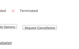 Request Cancellation